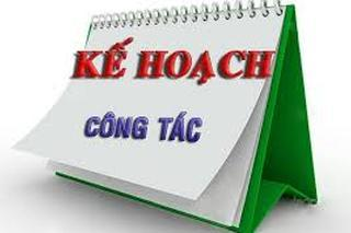 ke hoach cong tac