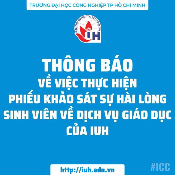 khao sat IUH