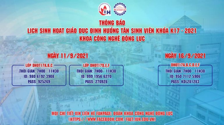 BR lich dinh huong